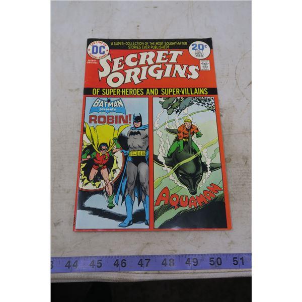 Secret Origins 20 cents 1974