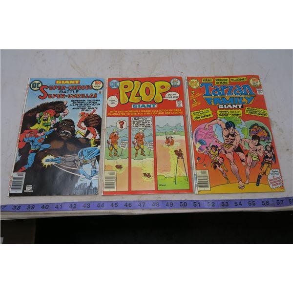 50 cent, Superheros battle Super Gorillas, 1976; #1 Plop 1976, #24