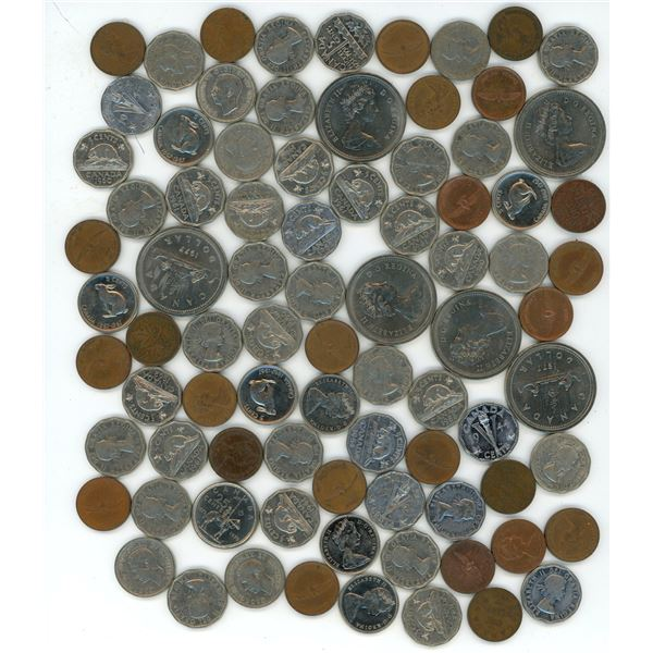 Lot of Misc. Canadian Coins