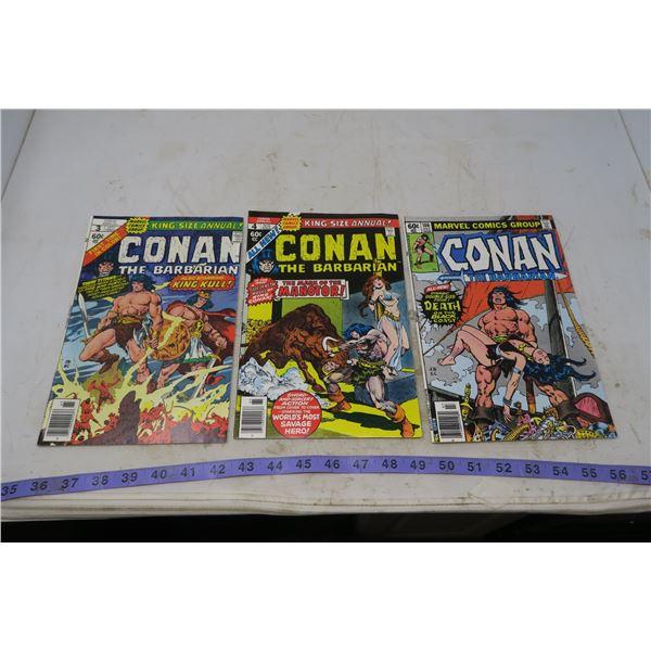 Conan the Barbarian, 1977 to 1979