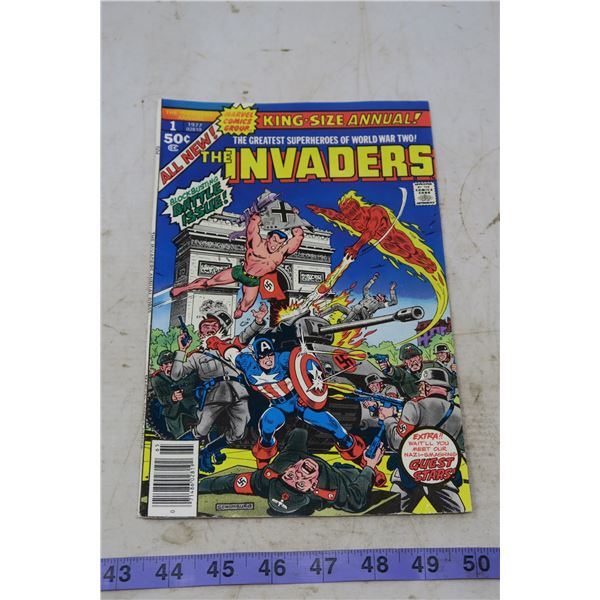 The Invaders, 50 cents, 1977