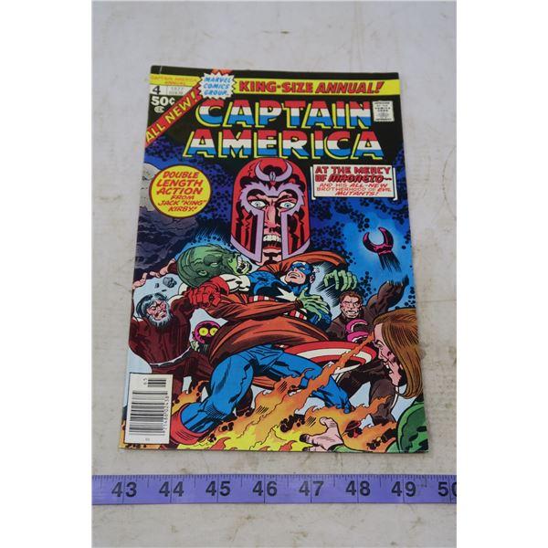 Captain America 50 cents, 1977