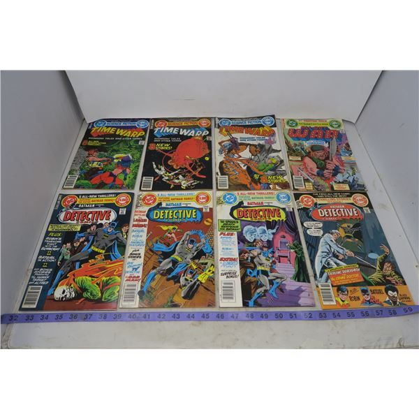Lot 11 DC Comic Books (Water Damaged)