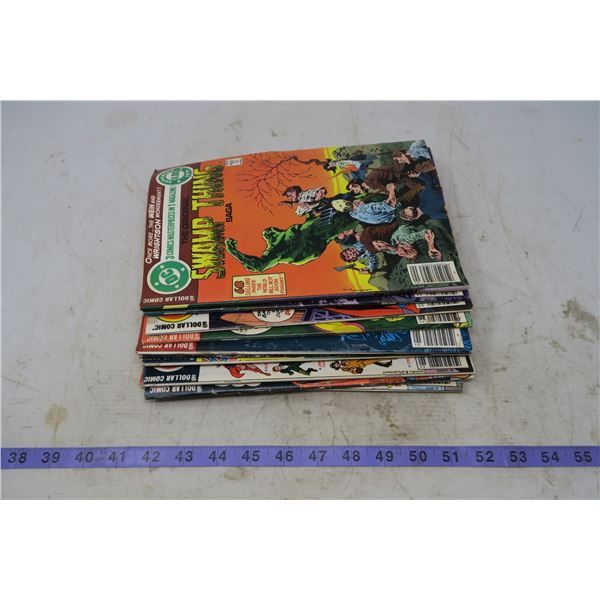 Lot 12 DC Comic Books (Water damaged)
