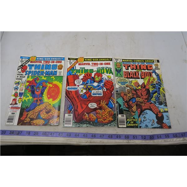 Marvel 2 in 1, 60 cents, 1977-79