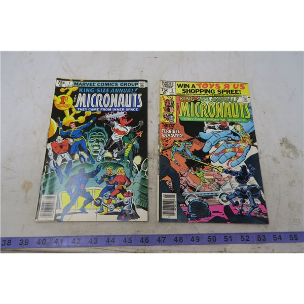The Micronauts, 75 cents, 1979, 1980