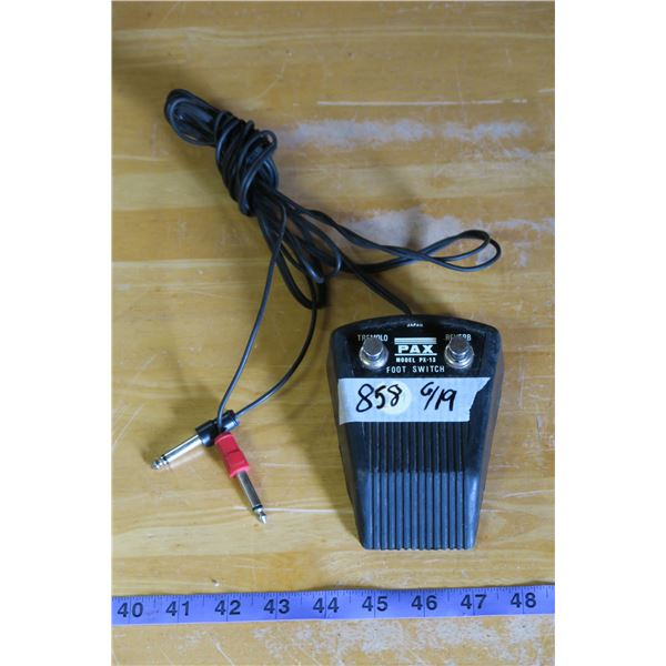 PAX PX-13 Amp Foot Controller