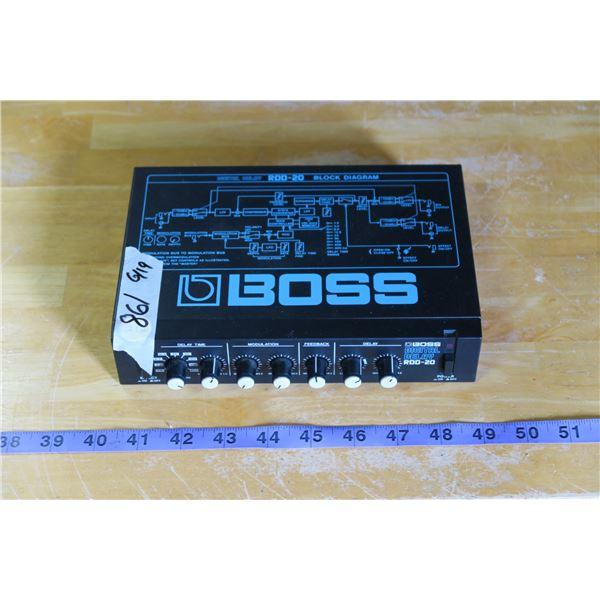 Boss RDD-20 Digital Delay Delay Effect Box