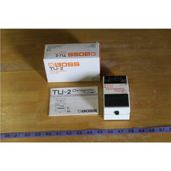 Boss TU-2 Tuner Tuner Pedal