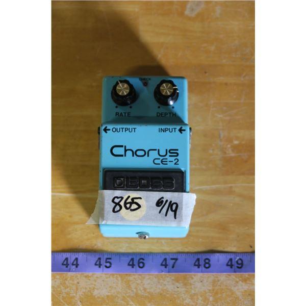 Boss CE-2 Chorus Chorus Effect Pedal