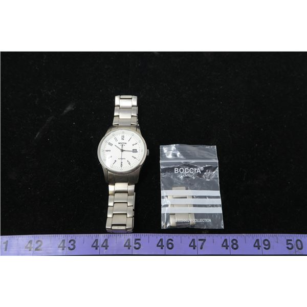 Boccia Automatic Watch + Extra Band