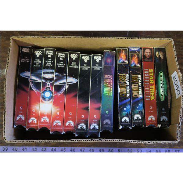 Star Trek Complete VHS Series