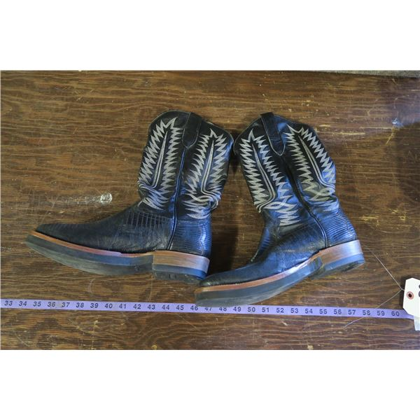 10EE Cowboy Boots, Cowtown, made in USA