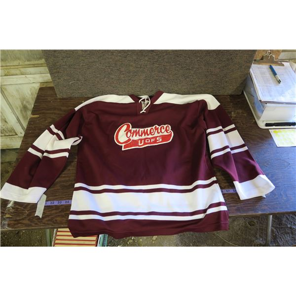 U of S Commerce #22 Hockey Jersey, circa 1975