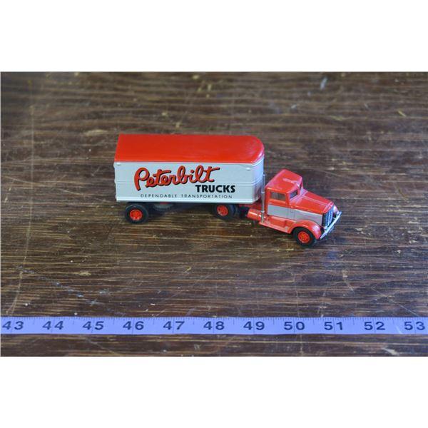 Peterbilt semi truck and trailer Toy