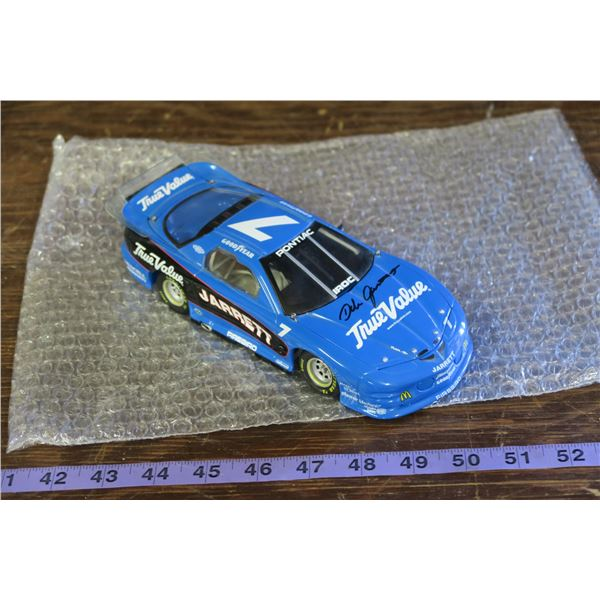 Jarrett #7  True Value, Blue NASCAR car  Model, without case