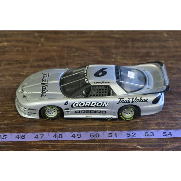 Gordon #6 True Value Silver NASCAR  Model, no case