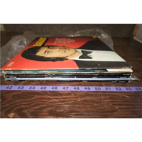 Lot of Engelbert Humperdinck Records