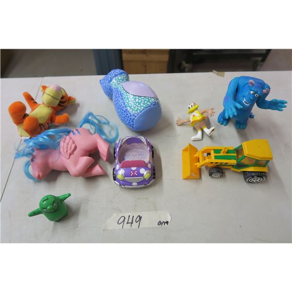 8X Misc Children's Toys