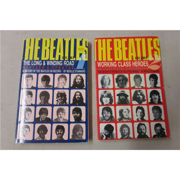 Beatles Books X2 The History Part 1 and 2 - the Long and Windy Road and Working Class Heroes