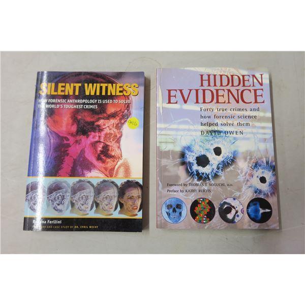 Books X2 - Forensic Studies/True Crime