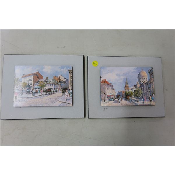"""2X Small Scene Pictures - 10""""x8"""""""