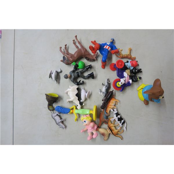 20X Small Children's Toys- Farm Animals and Others