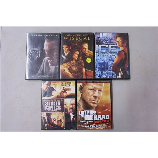 DVD Movies X5