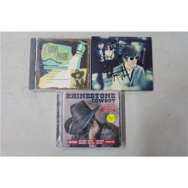 CD's X4 - Country