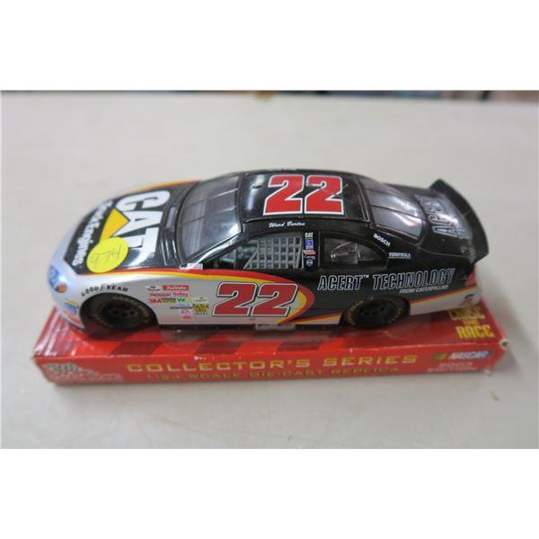 1:24 Scale NASCAR CAT Racing Car Replica Collector's Series Model