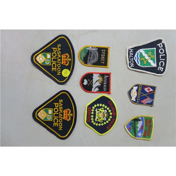 8 patches, some police