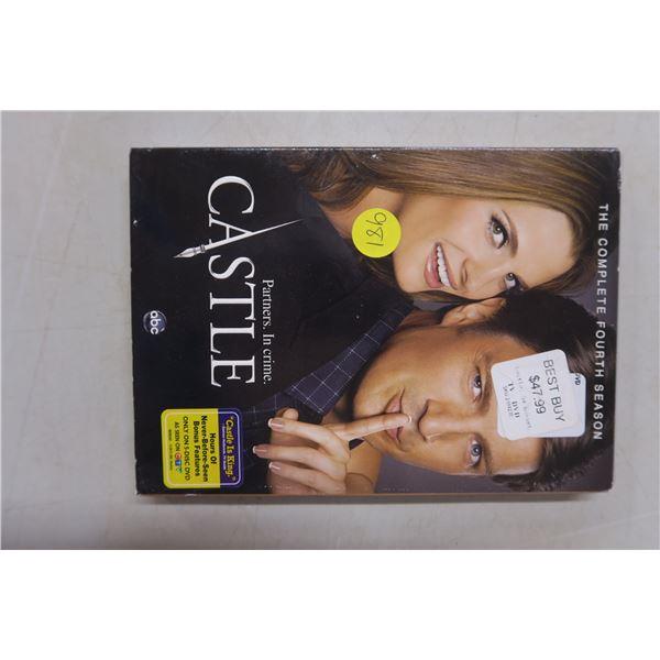 ABC's Castle DVD complete 4th season