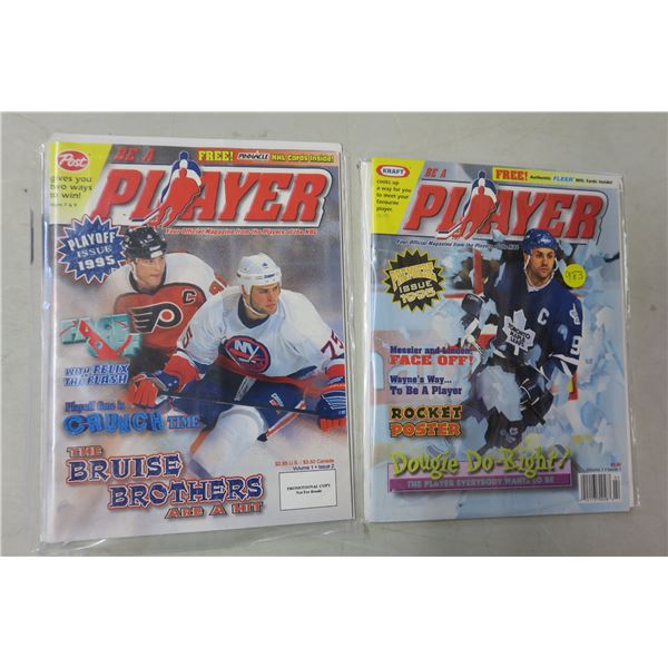 Player Hockey Magazine X2 Issues 1 and 2