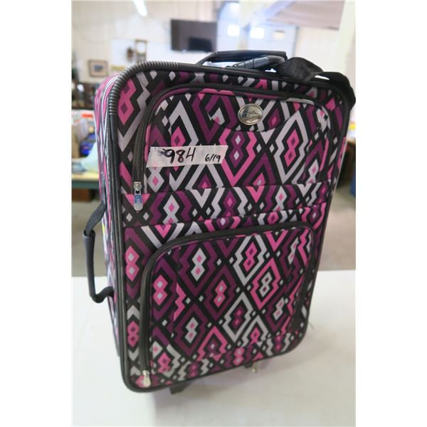 Travel Suitcase 3 Piece Set with 2 Travel Cushions