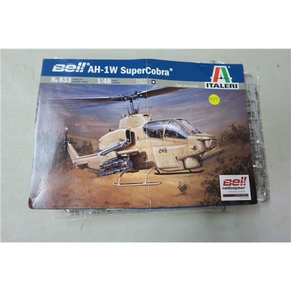 AH-1W SuperCobra 1:48 Scale Model Helicopter