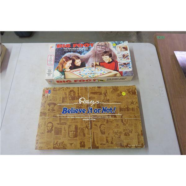 2 Boardgames - Bigfoot and Ripley's