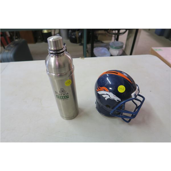 New Drink Thermos and NFL Bank