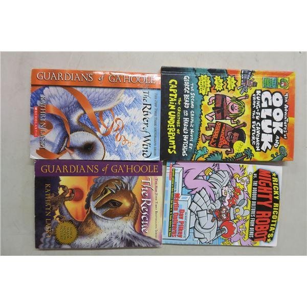 4 Children's Books