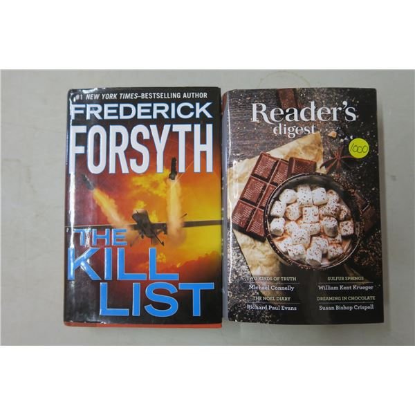 2 Hardcover Books