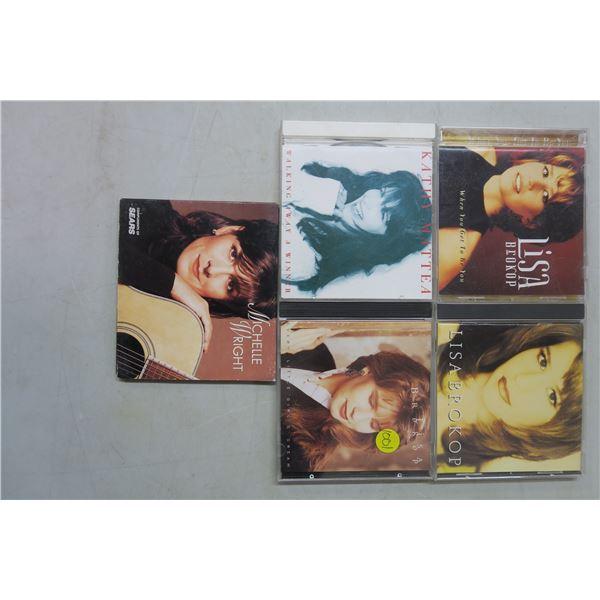 5X CD's