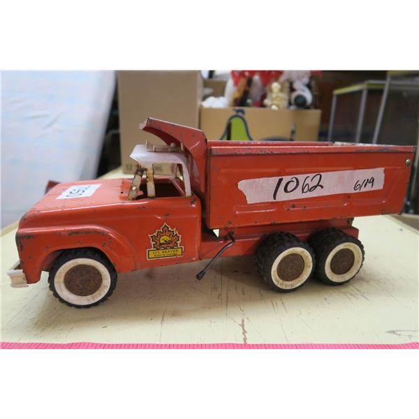 "Lil Beaver Metal Toy Dump Truck - 16"""