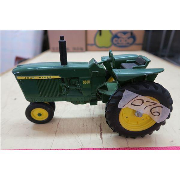 """John Deere Metal Toy Tractor - 9"""""""