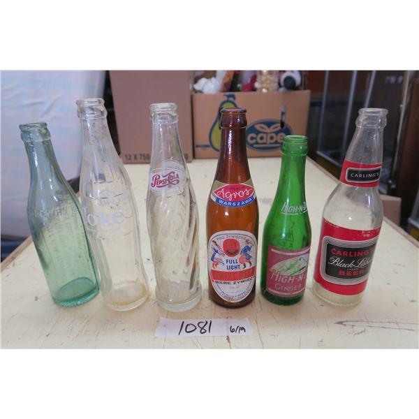 6X Classic Pop Bottles