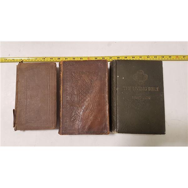 Antique Bibles ( 18,66, 1861 , 1971)