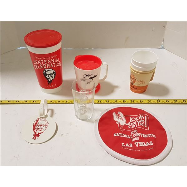 Vintage KFC Travel Cups / Collectable Items