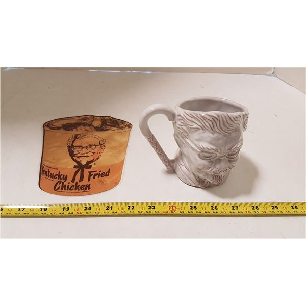 Vintage KFC Mug & Original El Rancho Foods
