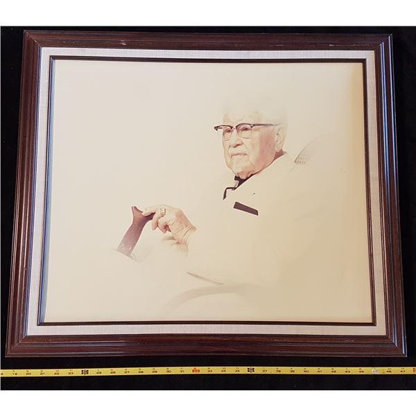 Vintage Colonel Sanders Painting
