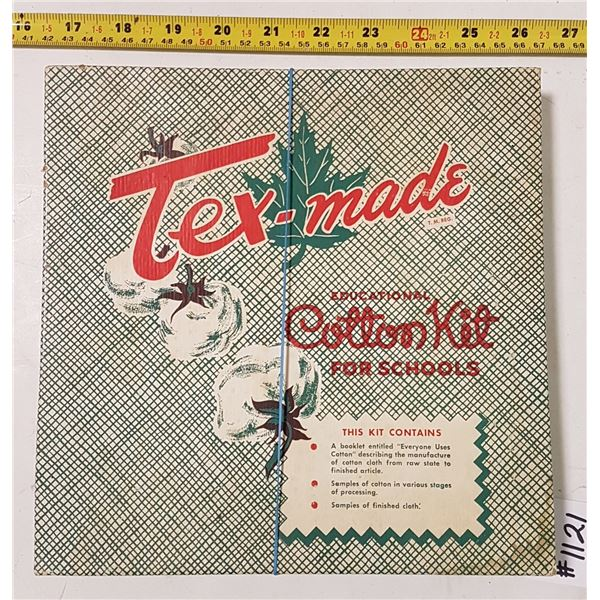 Tex-Made Educational Cotton Kit