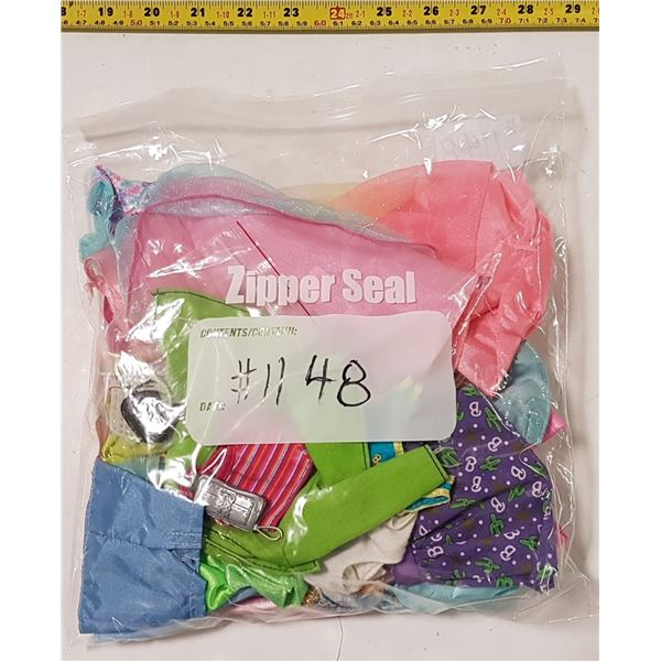 Lot of Barbie Clothes & Accessories