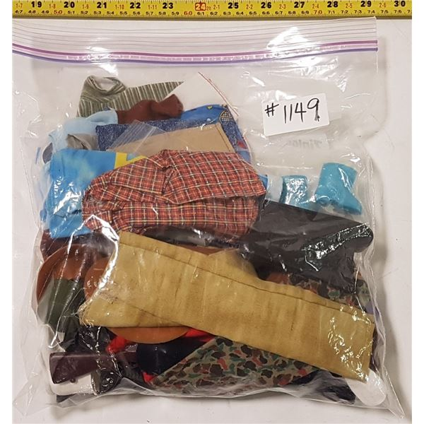 Lot of Ken Clothes & Accessories